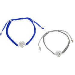 Bracelet Shiva Cœur strass...