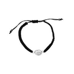 Bracelet Shiva Cœur tressé